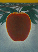 Fruit Paintings - Apple 2 in a series of 3 by Don Young