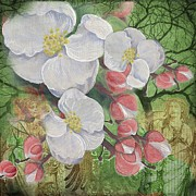 Sharon Marcella Marston - Apple Blossom Collage