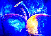 Symbolism Glass Art - Apple Cup by Omaste Witkowski
