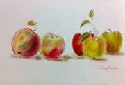 Eating Pastels - Apple by Elsie Tsang