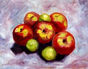 Apple Harvest Print by Nancy Merkle