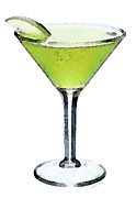 Martini Prints - Apple Martini - Appletini - Cocktails Print by Sharon Cummings