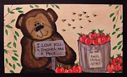Cindy Micklos - Apple Orchard Bear