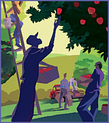Clifford Faust - Apple Pickers