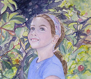 Carol Flagg - Apple Picking