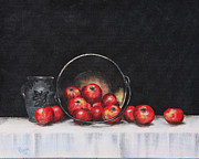 Apple Still Life Print by Rita Miller