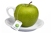 Tea Posters - Apple tea Poster by Dirk Ercken