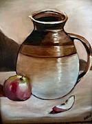 Arlen Avernian Thorensen - Apple with Ceramic jug.