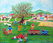 Barbara Sala - Applepicking