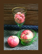 Patricia Overmoyer - Apples and Green Glass-I