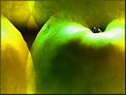 Apple Digital Art Originals - Apples by Daniel Janda