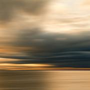 Approaching Evening Storm Print by Bob Retnauer
