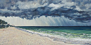 Storm Prints Metal Prints - Approaching Gail Metal Print by Danielle  Perry