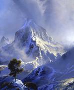 Approaching Storm Print by David Lloyd Glover
