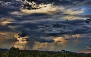 Approaching Storm Print by Douglas Barnard