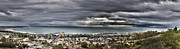 City Scape Metal Prints - Approaching Storm HDR Panorama  Metal Print by Joe  Palermo