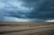 Storm Prints Art - Approaching Storm - Outer Banks by Dan Carmichael