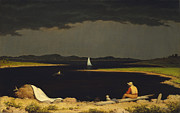 Sails Prints - Approaching Thunderstorm Print by Martin Heade
