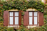 Apremont Framed Prints - Apremont-sur-Allier windows Framed Print by Oleg Koryagin