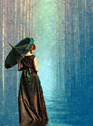 Gown Paintings - Apres La Pluie by Tyler Robbins