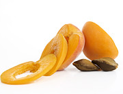 Food And Drink Metal Prints - Apricots Metal Print by Bernard Jaubert