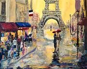 April In Paris Print by Alan Lakin