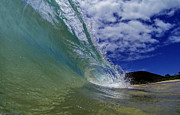 Brad Scott Prints - Aqua Wash Print by Brad Scott