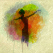 Ballet Art Prints - Aquarelle Print by Taylan Soyturk