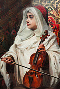 Violin Digital Art - Arab Fiddler by Pedro Americo