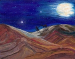 Desert - Arabian Night by Mary Sedici