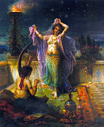 Arabian Nights Posters - Arabian Nights Poster by Hans Zatzka