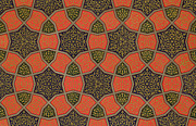 Arabic Decorative Design Print by Emile Prisse dAvennes