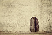 Tunisia Prints - Arabic door Print by Nikolina Petolas