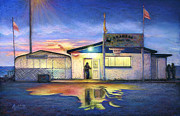 Texas Pastels Originals - Aransas Bait Co by Laura Griffith
