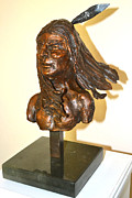 Indians Sculptures - Arapaho by Casey Koehler