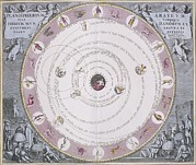 Aratus Planisphere, 1708 Print by Science Photo Library