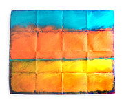 Abstract Landscape Reliefs - Arava by Lavih Serfaty