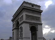 French Photo Originals - Arc de Triomphe de lEtoile by Sivaanan Balachandran