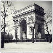 Elysees Prints - Arc de Triomphe - Paris Print by Philip Sweeck