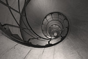 Spiral Staircase Photos - Arc de Triomphe Spiral Stairs by Heidi Hermes