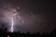 Lightning Storms Photo Prints - Arc Lite Print by Reid Callaway