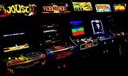 80s Framed Prints - Arcade Forever Williams Framed Print by Benjamin Yeager