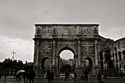 Old Art - Arch of Constantine by Gregory  Kent