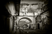 Tom Bell Framed Prints - Arch of Santa Catalina Framed Print by Tom Bell