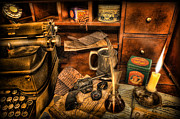 Indiana Photography Prints - Archaeologist -  The Adventurers Jornal Print by Lee Dos Santos