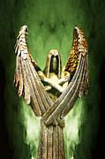 Archangel Azrael Print by Bill Tiepelman