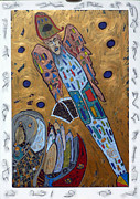 Michael Mixed Media Originals - Archangel Michael by Clarity Artists