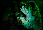 Absinthe Art By Michelle LeAnn Scott - Archangel Raphael