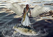 Valerie Anne Kelly - Archangel Raphael