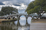 Currituck Art - Arched Bridge I by Steven Ainsworth